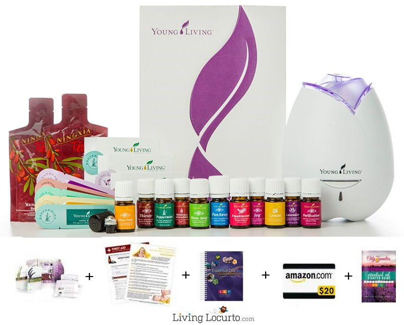 Living Locurto  Deal on Young Living Essential Oils Premium Starter Kit
