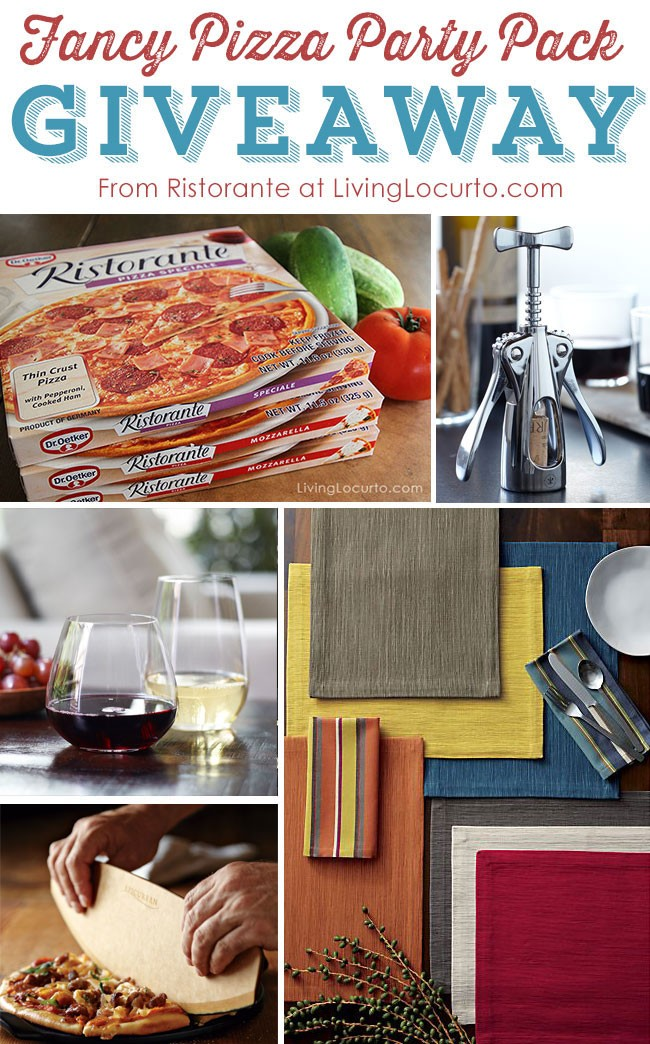 Ristorante Pizza Party Giveaway!