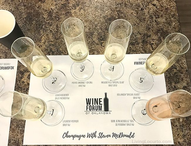 Top 3 Favorite Things to do in Oklahoma. Travel Tips - Wine Forum champagne tasting