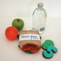 Free School Sandwich Wrap Labels