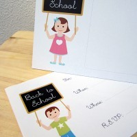 Free Printables - Back To School Party