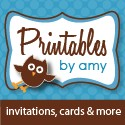 Printables By Amy - Party Supplies and Fun Printable Designs